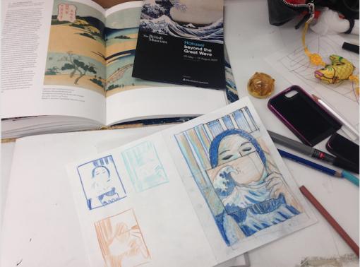 Hokusai Prep 3
